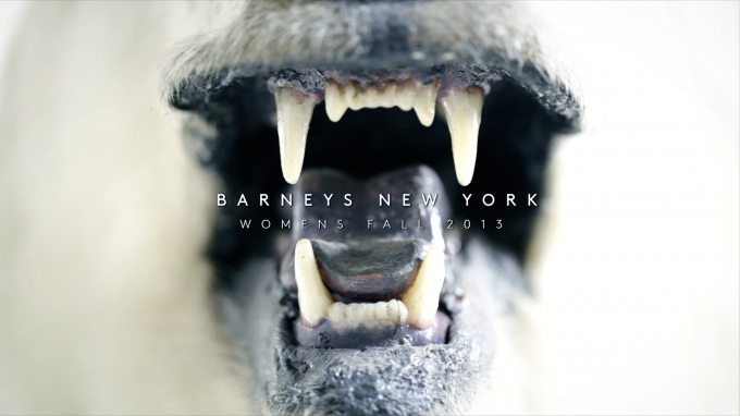 BARNEYS NEW YORK FALL 2013 Behind the Scene